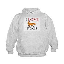 I Love Foxes Hoodie
