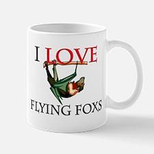 I Love Flying Foxs Mug