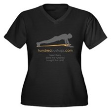 Been there... Women's Plus Size V-Neck Dark T-Shir
