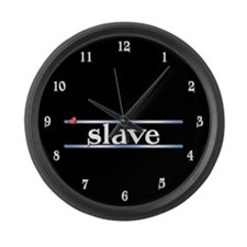slave Large Wall Clock