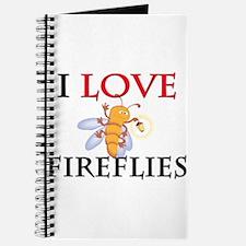 I Love Fireflies Journal