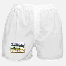 Golden Retrievers ROCK Boxer Shorts