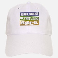 Golden Retrievers ROCK Baseball Baseball Cap