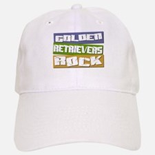 Golden Retrievers ROCK Cap