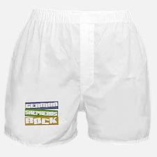 German Shepherds ROCK Boxer Shorts