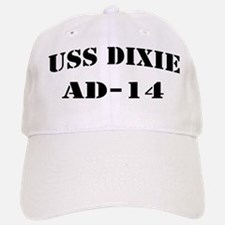 USS DIXIE Baseball Baseball Cap