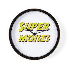 Super moises Wall Clock