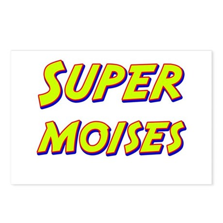 Super moises Postcards (Package of 8)