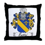 Rustici Family Crest Throw Pillow
