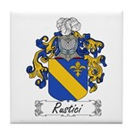 Rustici Family Crest Tile Coaster