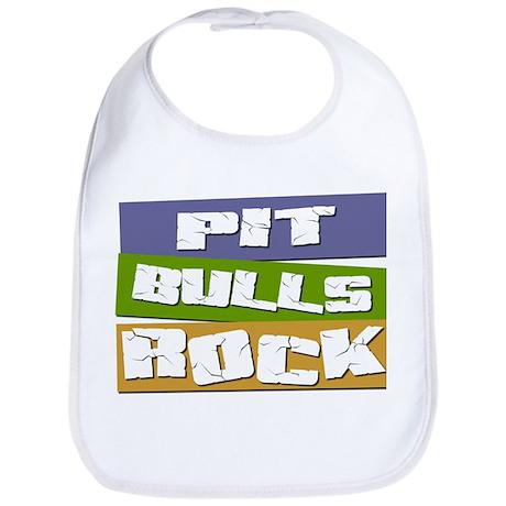 Pit Bulls ROCK Bib