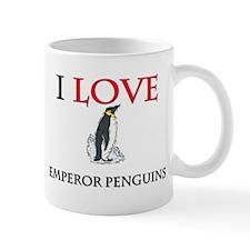 I Love Emperor Penguins Mug