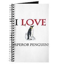 I Love Emperor Penguins Journal