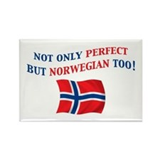 Perfect Norwegian 2 Rectangle Magnet