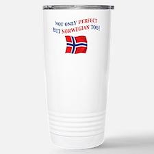 Perfect Norwegian 2 Stainless Steel Travel Mug