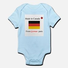 Made in Canada from German Parts Onesie