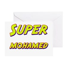 Super mohamed Greeting Card