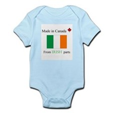 Made in Canada from Irish Parts Onesie