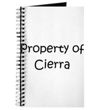 Cute Cierra Journal