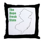Dope Fresh! Throw Pillow