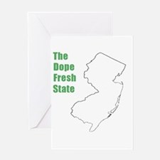 Dope Fresh! Greeting Card