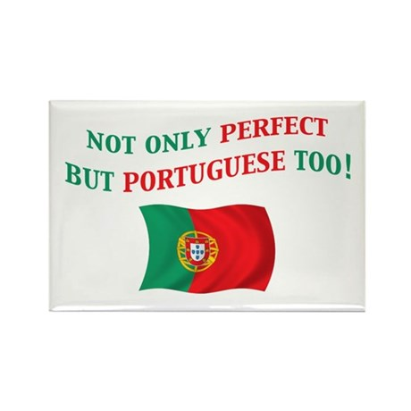 Perfect Portuguese 2 Rectangle Magnet