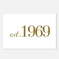 Est. 1969 (40th Birthday) Postcards (Package of 8)