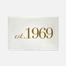 Est. 1969 (40th Birthday) Rectangle Magnet