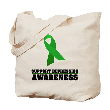 Depression Awareness Tote Bag