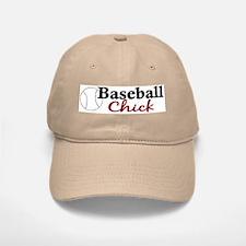 Baseball Chick Baseball Baseball Cap