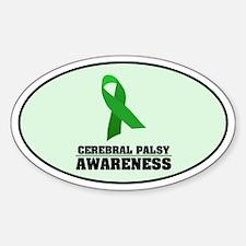 CP Awareness Oval Decal