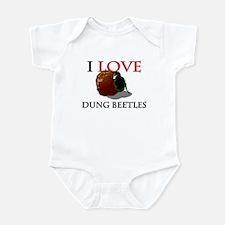 I Love Dung Beetles Infant Bodysuit