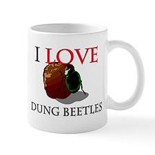 I Love Dung Beetles Mug