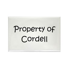 Funny Cordell Rectangle Magnet
