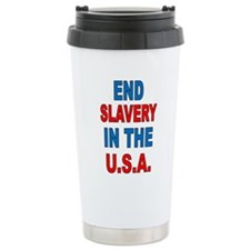 Unique End slavery Travel Mug
