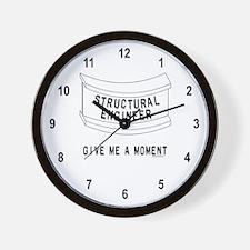 Beam Moment Wall Clock