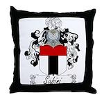 Sabini Family Crest Throw Pillow