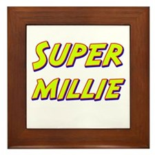 Super millie Framed Tile