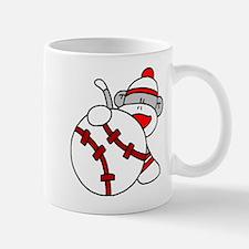 Sock Monkey Baseball Mug