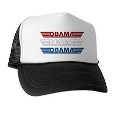 Obama Winged Logo Trucker Hat