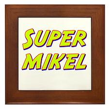 Super mikel Framed Tile
