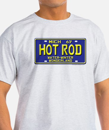 Hot Rod License Plate T-Shirt