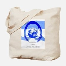 Work for Peace Tote Bag