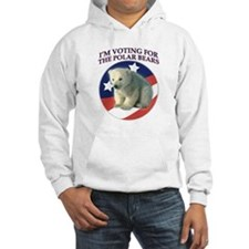 Vote for the Polar Bears Hoodie