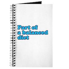 Part of a balanced diet Journal