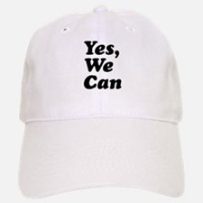 Yes We Can Baseball Baseball Cap