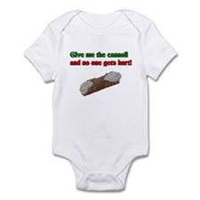 Give me the cannoli and no one gets hurt! Onesie