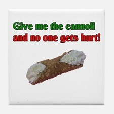 Give me the cannoli and no one gets hurt! Tile Coa