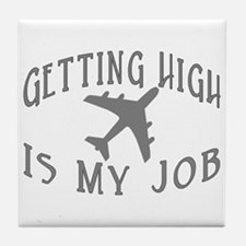 Airline Pilot Tile Coaster