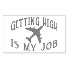 Airline Pilot Rectangle Decal